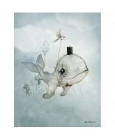 Dekoracja ścienna Dear Whalie