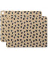 Zastawa stołowa dla dzieci Leopard Dots
