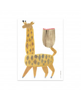 Dekoracja ścienna Noah Giraffe