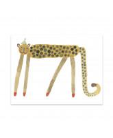 Dekoracja ścienna Smiling Leopard Elvis
